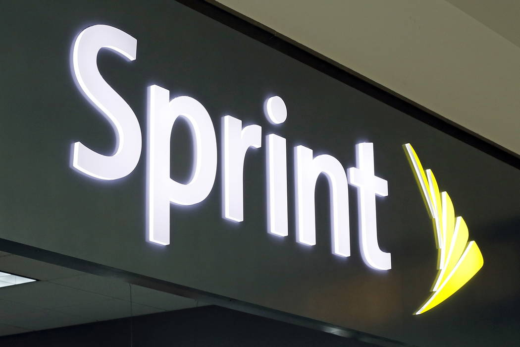 This is the sign a Sprint store in Pittsburgh Monday, Aug. 31, 2017. (AP Photo/Gene J. Puskar)