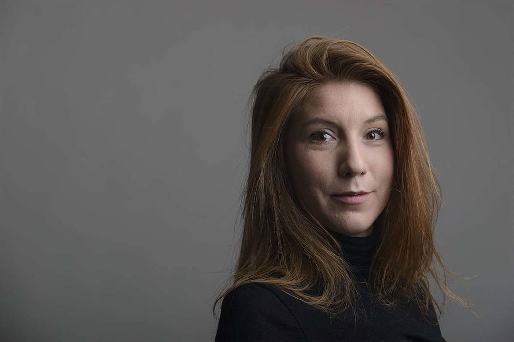 Danish police said Wednesday, Aug. 23, 2017,  that DNA tests from a headless torso found in the Baltic Sea matches with missing Swedish journalist Kim Wall, who is believed to have died on an amat ...