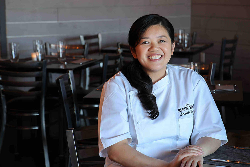 Chef Jamie Tran opened Black Sheep restaurant on Warm Springs Road. (Madison Freedle)