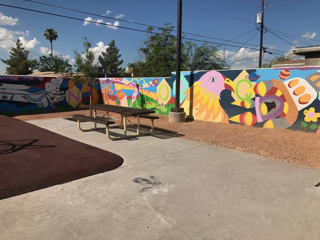 Brooks Tot Lot opened on August 23, 2017 after receiving renovations at 1421 E. Brooks Ave. (Kailyn Brown/View) @KailynHype