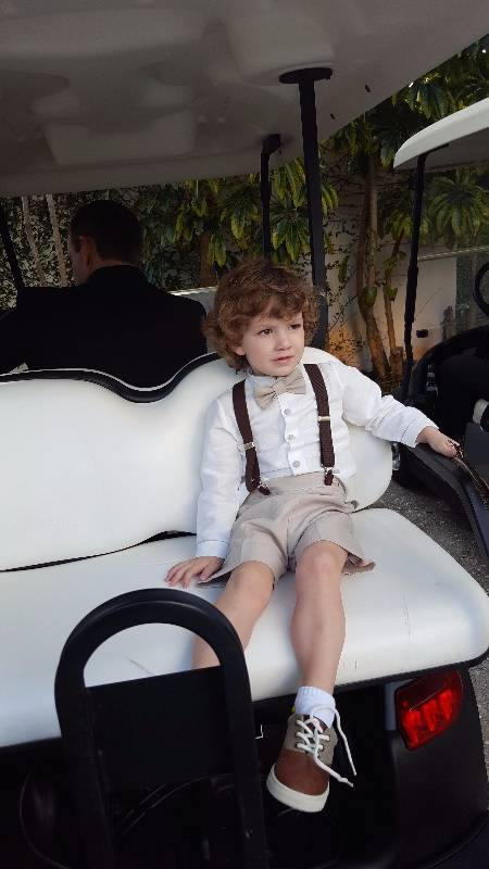 """Bryan and Piper Forgione's youngest son, Christopher. Bryan Forgione is executive chef at world-famous TV """"Cake Boss"""" Buddy Valastro's restaurant in the Palazzo. (Courtesy)"""