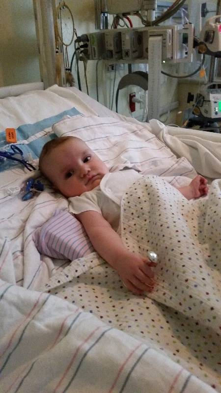 Bryan and Piper Forgione's youngest son, Christopher, was born with Tetralogy of Fallot, a heart defect. (Courtesy)
