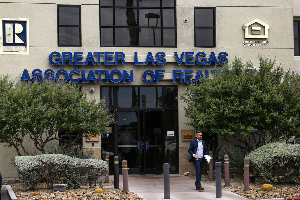 The Greater Las Vegas Association of Realtors office on East Sahara Avenue in Las Vegas on Aug. 24, 2017. The property was recently sold to a construction union. Joel Angel Juarez Las Vegas Review ...
