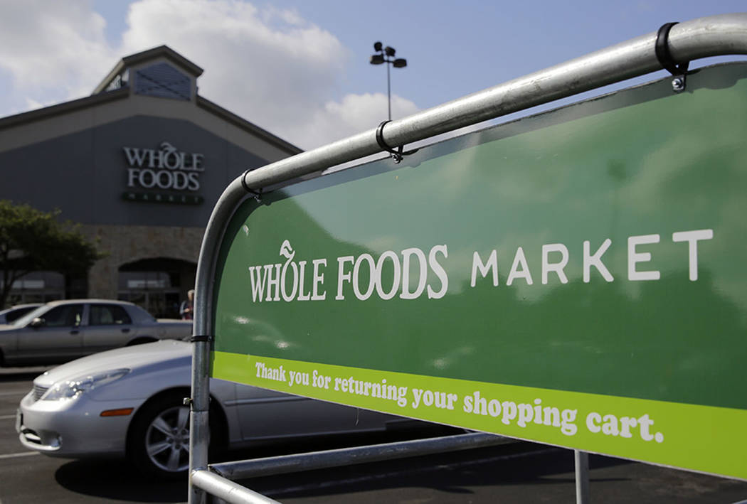 A Whole Foods Market is seen in San Antonio in June. (AP Photo/Eric Gay)