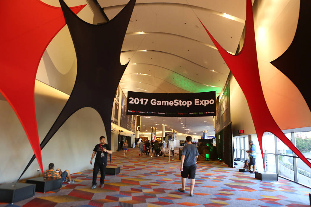 The 2017 GameStop Expo finishes at the Sands Expo and Convention Center, Sunday, Aug. 27, 2017 . Elizabeth Brumley Las Vegas Review-Journal