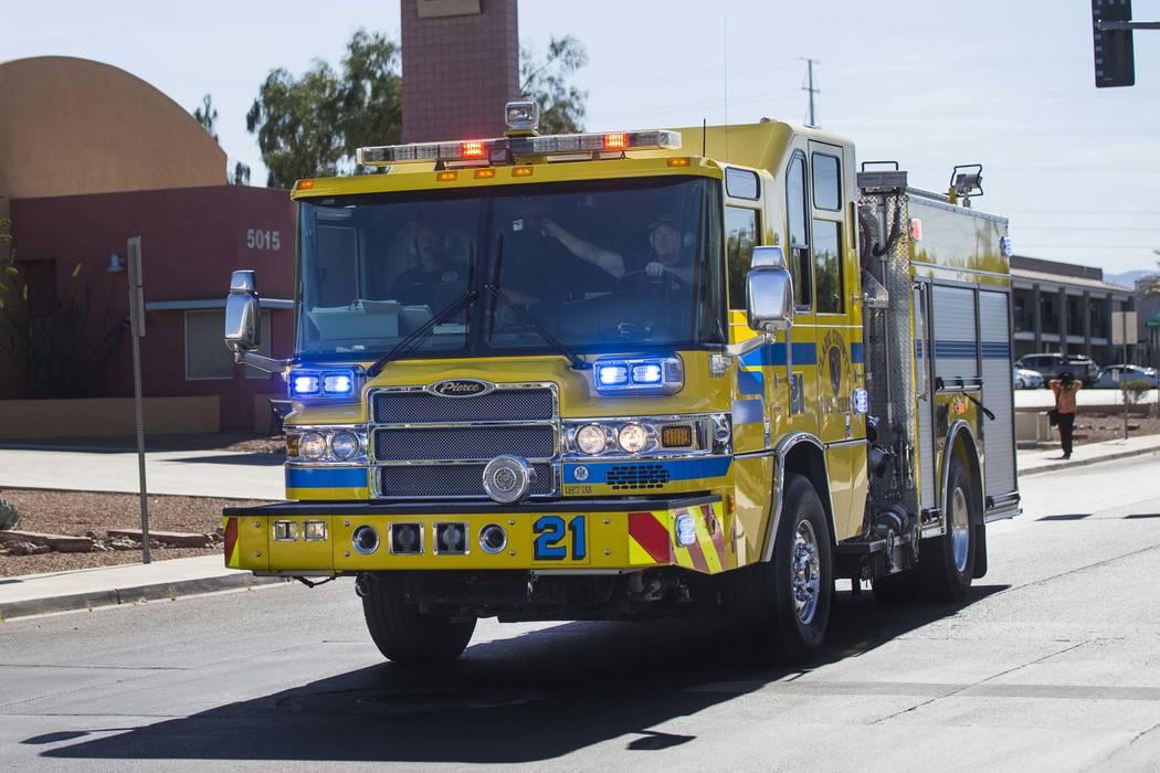 Clark County Fire Department (Chase Stevens Las Vegas Review-Journal) @csstevensphoto