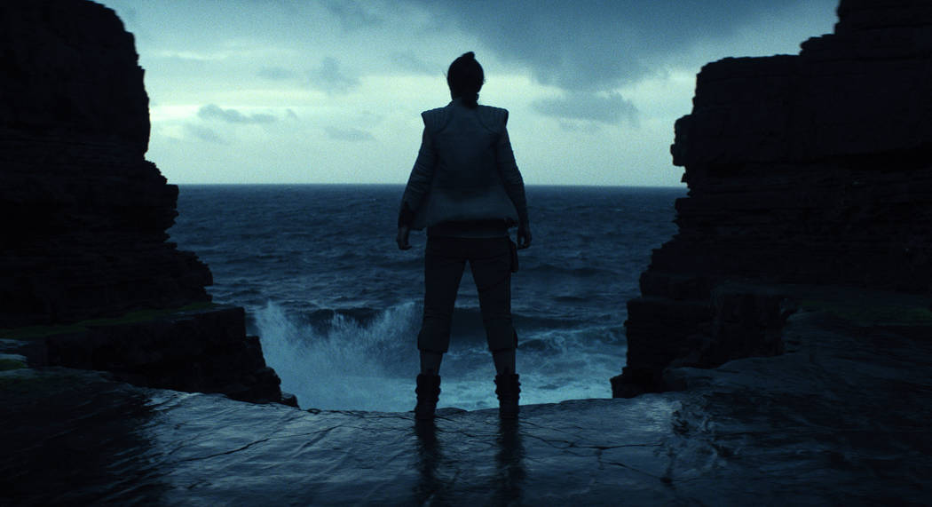 "This image released by Lucasfilm shows a scene from the upcoming ""Star Wars: The Last Jedi,"" expected in theaters in December.  Fans are about to get a glimpse at a new character ..."
