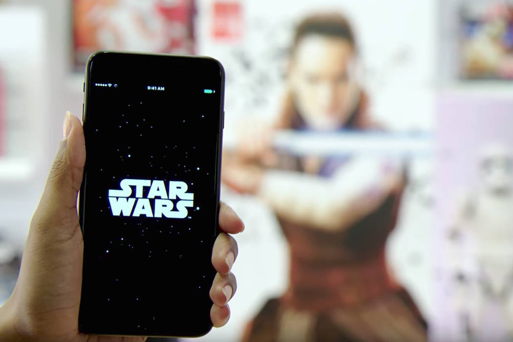 Using the Star Wars app in the 20,000 participating locations in 30 countries, fans can snap photos of the Find the Force symbol to find old favorites, like Admiral Ackbar, and discover a new char ...