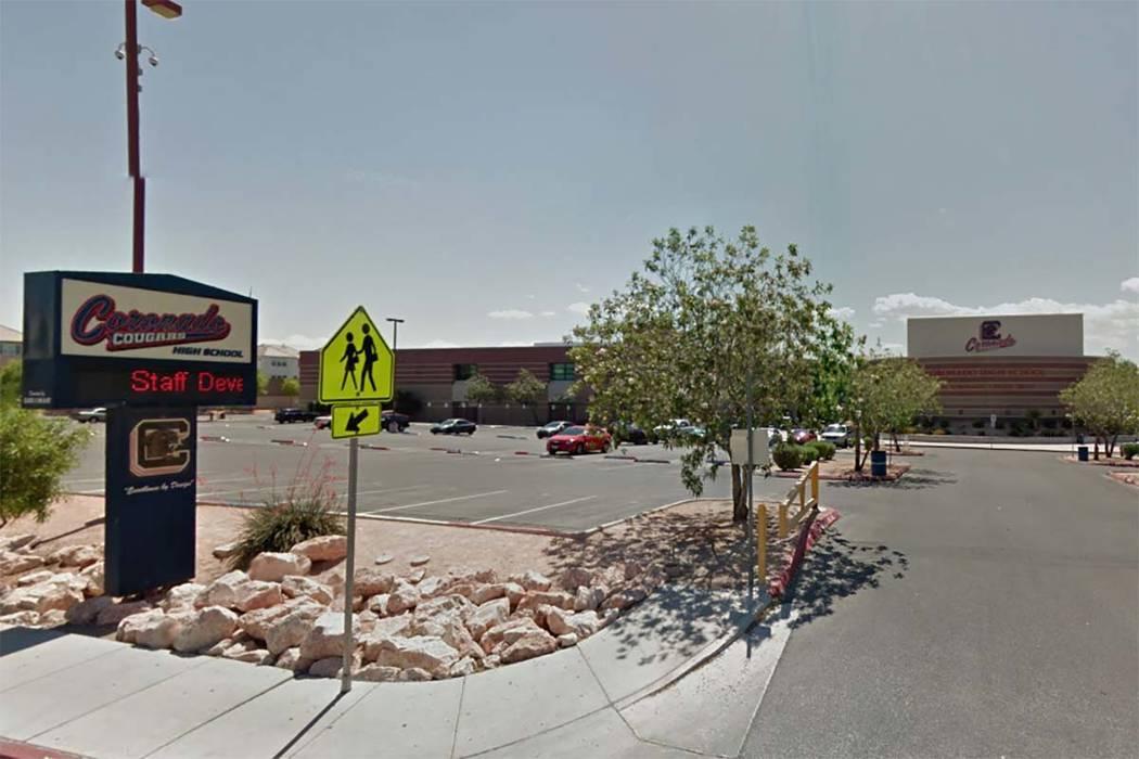 Coronado High School, Henderson. (Google Street View)