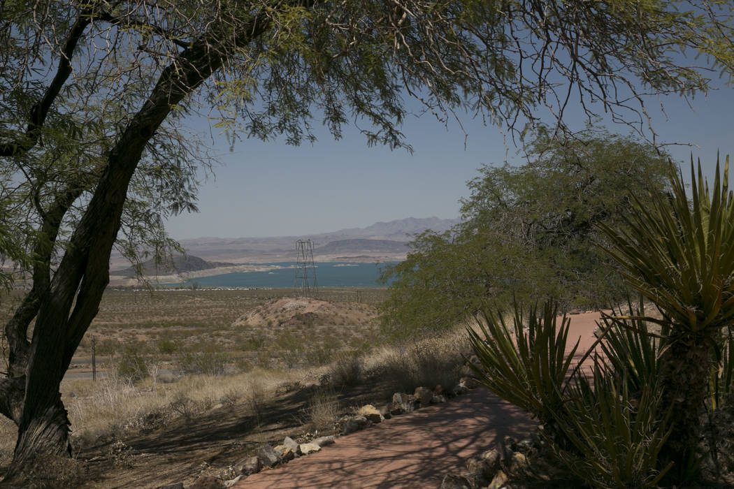 The Lake Mead National Recreation Area is seen from the Lake Mead Visitor Center on Saturday, July 1, 2017. Gabriella Angotti-Jones Las Vegas Review-Journal @gabriellaangojo