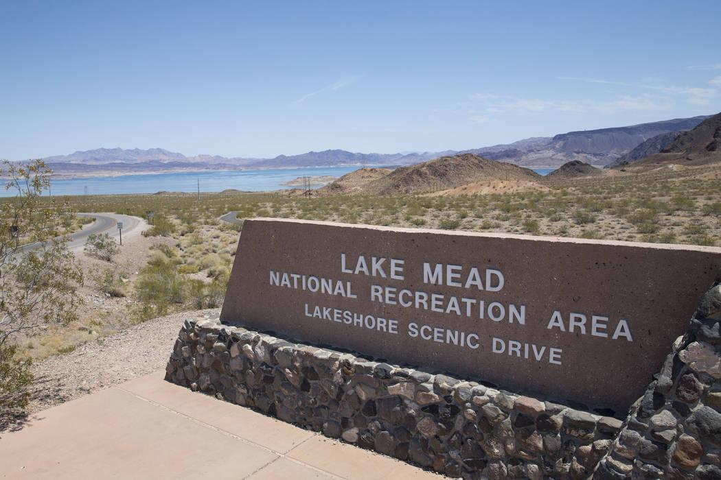 Lake Mead National Recreation Area Lakeshore Scenic Drive entrance on Monday, June 19, 2017. (Richard Brian/Las Vegas Review-Journal) @vegasphotograph