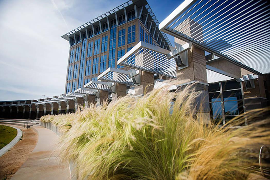 North Las Vegas City Hall (Jeff Scheid/Las Vegas Review-Journal file)