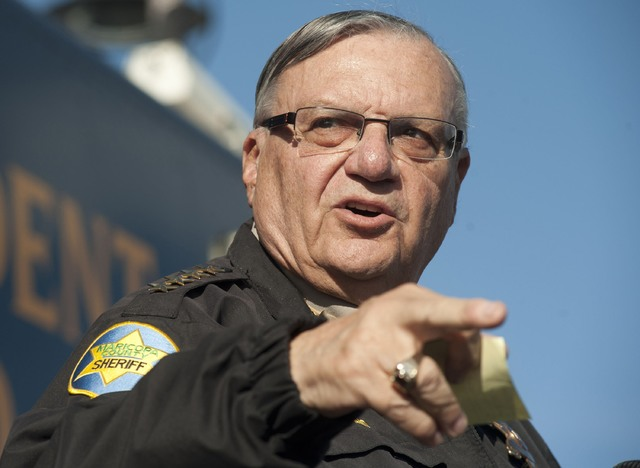 Maricopa County Sheriff Joe Arpaio, seen in 2013. (Laura Segall/Reuters)