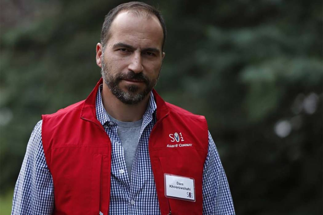 Uber's board of directors has picked Dara Khosrowshahi to be the company's next CEO.  (Jim Urquhart/Reuters)