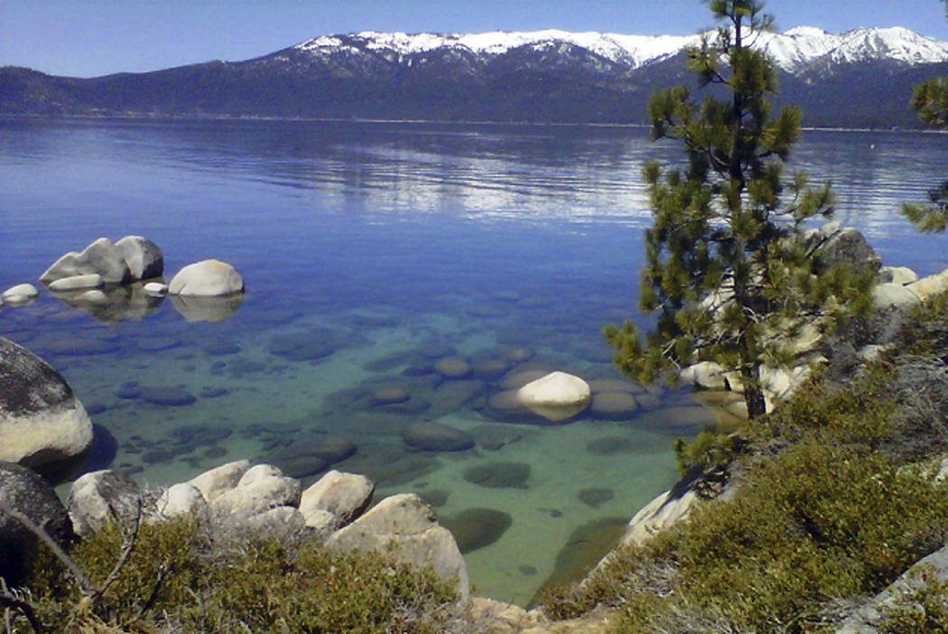 Lake Tahoe seen from Incline Village. (Scott Sonner/AP, File)