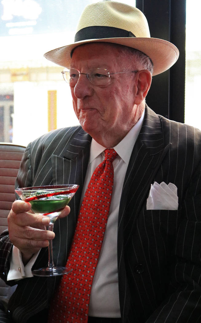 Former Las Vegas Mayor Oscar Goodman. Gabriella Benavidez Las Vegas Review-Journal @latina_ish