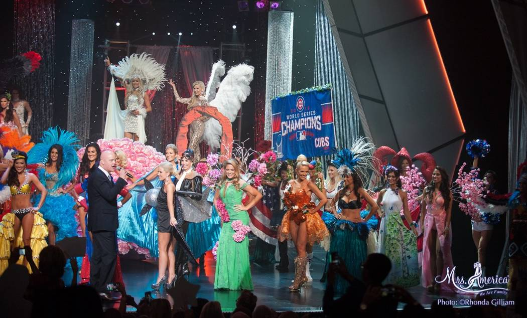 Las Vegas DJ Chet Buchanan was the host of the Mrs. America pageant, which was held over the weekend at the Westgate. The Mrs. World pageant will be held later this year in South Africa. (Rhonda G ...