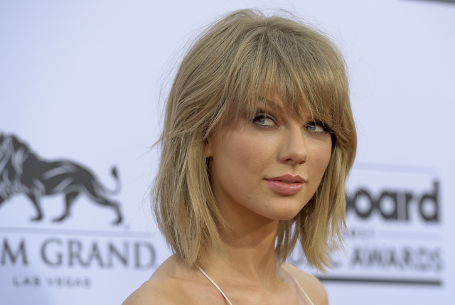 Taylor Swift on the Red Carpet at the 2015 Billboard Music Awards ceremonies at the MGM Grand Garden Arena in Las Vegas on Sunday, May 17, 2015. Mark Damon Las Vegas News Bureau