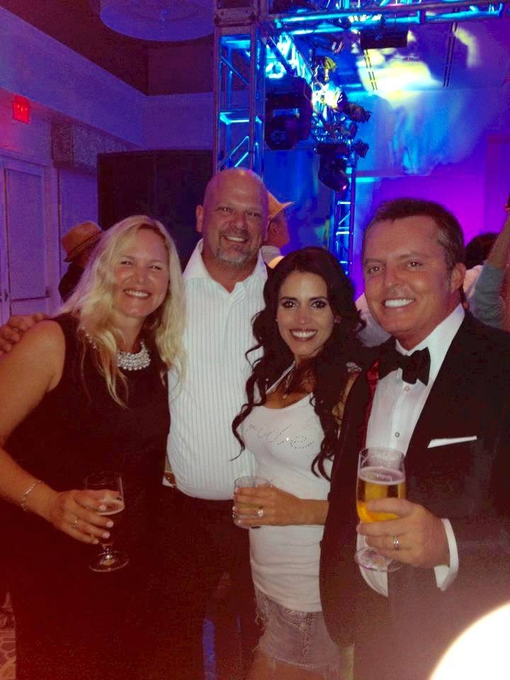 "Dr. Jill Oliver, Rick Harrison of ""Pawn Stars,"" Deanna Harrison and Michael Worley. (Courtesy)"