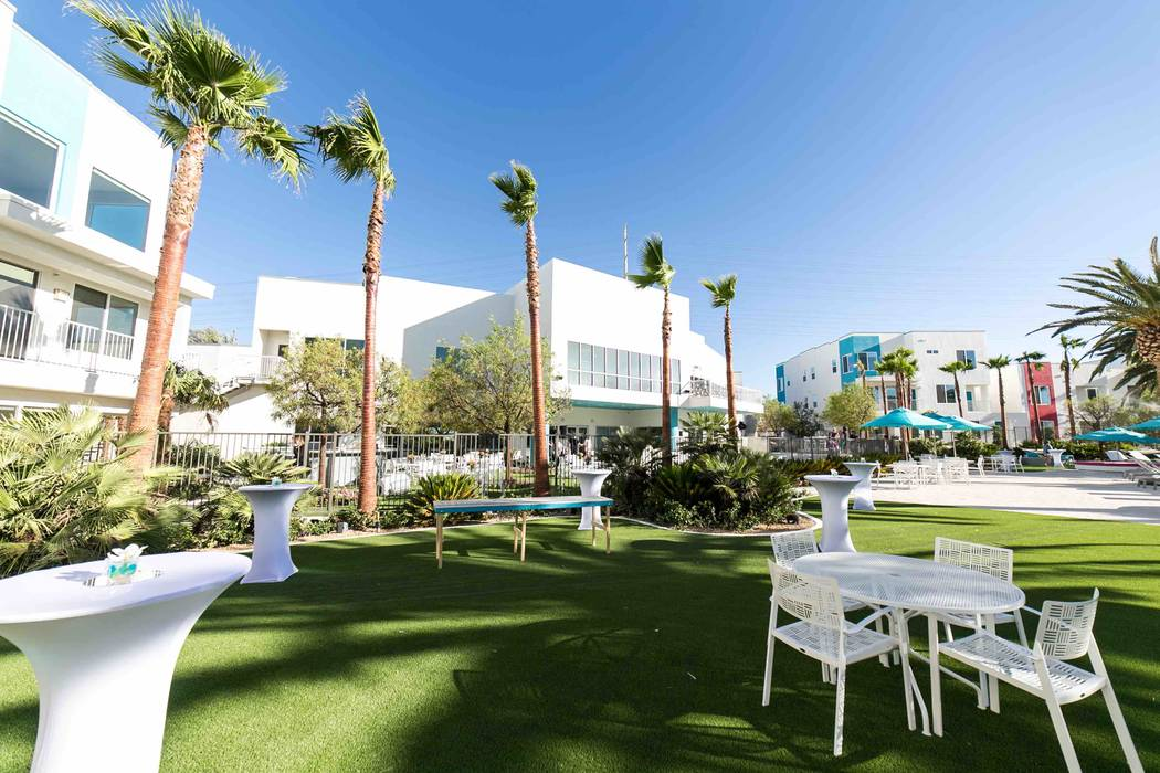 South Beach Resort is a boutique luxury apartment community on the west side of the Las Vegas Valley. (Courtesy)