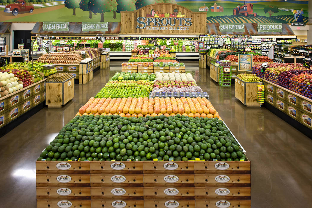 Sprouts will open a store in the northwestern Las Vegas Valley in September. (Sprouts)