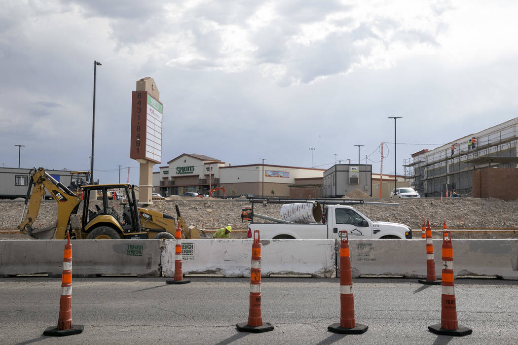 A new Sprouts Farmers Market is located off of North Durango Drive and Farm Road in Las Vegas, on Tuesday, Aug. 29, 2017. (Gabriella Angotti-Jones/Las Vegas Review-Journal) @gabriellaangojo