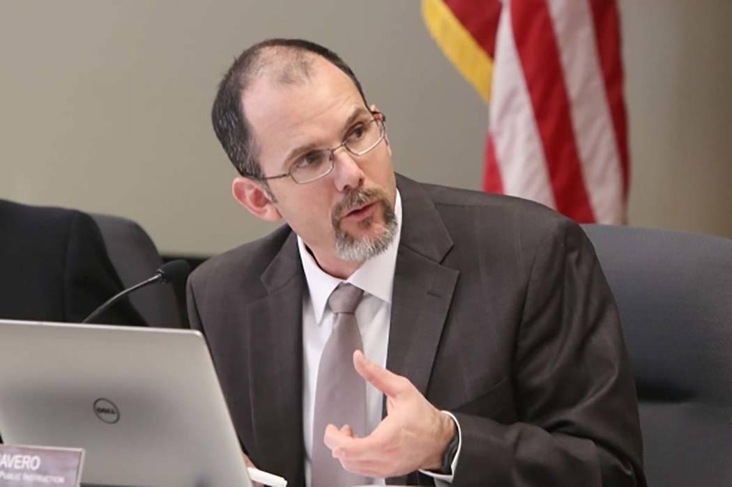Superintendent of Public Instruction for the Nevada Department of Education Steve Canavero (Bizuayehu Tesfaye/Las Vegas Review-Journal) @bizutesfaye