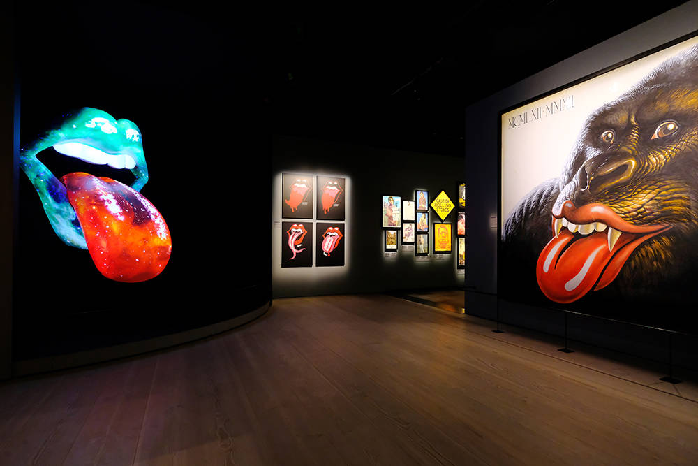 """""""The Rolling Stones: Exhibitionism"""" will open at The Palazzo Sept. 23 and run through Jan. 31. (Courtesy)"""