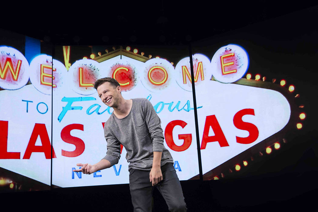 """Magician Mat Franco stars in """"Magic Reinvented Nightly"""" in Linq. (Courtesy)"""