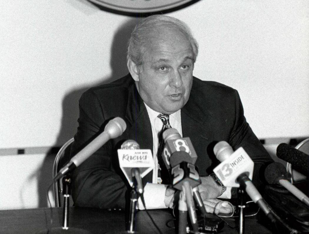 Rollie Massimino, was the head basketball coach at UNLV from 1992 to 1994. Massimino died on Wednesday, Aug. 30, 2017. He was 82. (Las Vegas Review-journal)