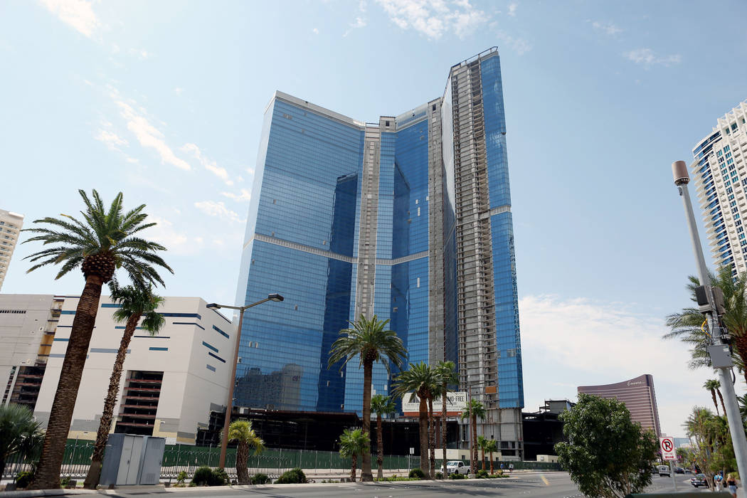 The unfinished Fontainebleau on the Las Vegas Strip has been sold again, as seen Thursday, Aug. 31, 2017. Elizabeth Brumley Las Vegas Review-Journal