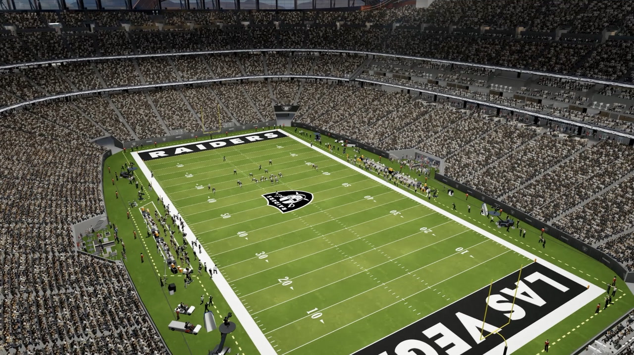 First Look At Details Of New Raiders Stadium In Las Vegas May Answer Wiring A Two Way Light Rose Questions Review Journal