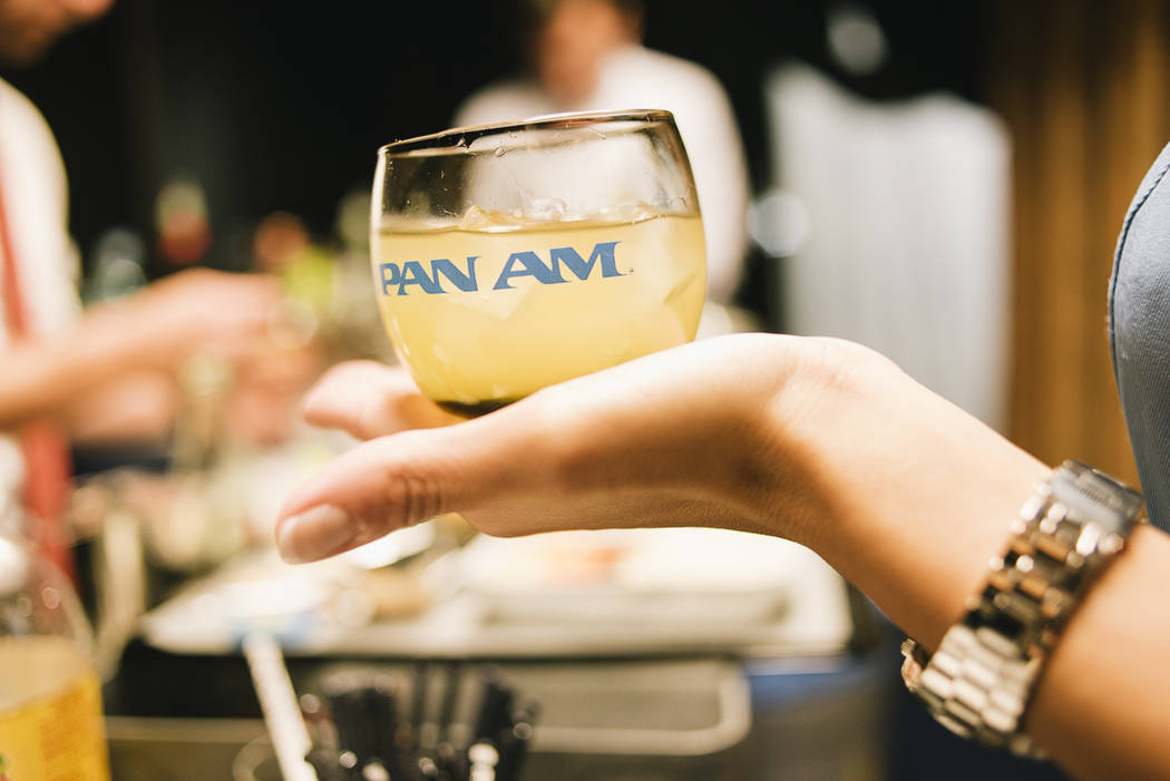 Air Hollywood has collected Pan Am memorabilia, from costumes to drink glasses, for its experience. (Photos courtesy of Danny Liao / Air Hollywood)