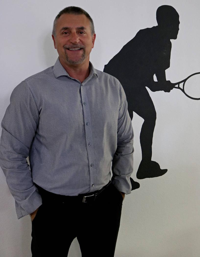 Vice President of Data Integrity, Kenny White, at Don Best Sport in Las Vegas, Tuesday, Sept. 5, 2017. Gabriella Benavidez Las Vegas Review-Journal @latina_ish