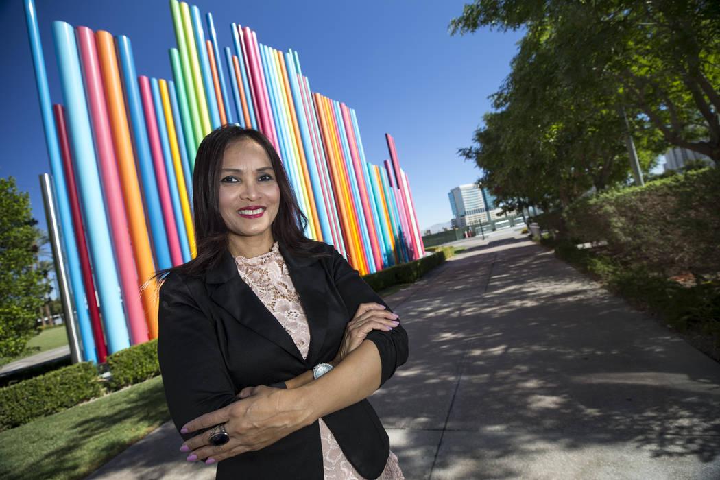 Lany Orlanda, executive director of the Las Vegas Health and Fitness Chamber of Commerce, at The Smith Center for the Performing Arts in Las Vegas, Saturday, Aug. 19, 2017. Richard Brian Las Vegas ...