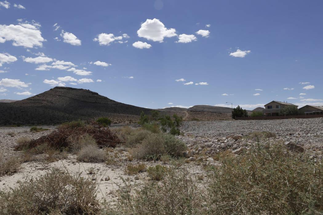 An undeveloped lot near Evelyn Stuckey Elementary School is the future site of the Southern Highlands sports park. Gabriella Angotti-Jones Las Vegas Review-Journal @gabriellaangojo