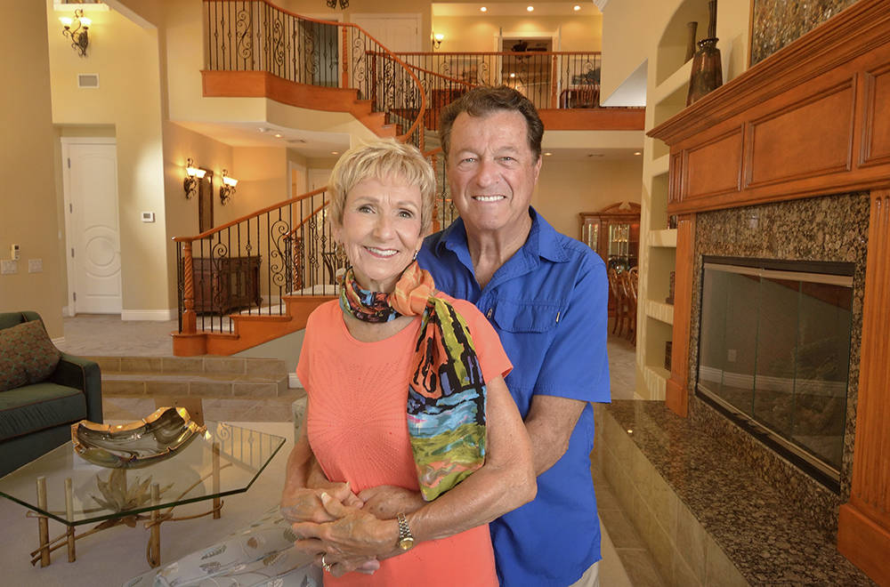 Mimi and George Murdock purchased the 1-acre estate at 368 E. Torino Ave. in 2010 for $2,225,000. They have placed it on the market for $2 million. (Bill Hughes/Real Estate Millions)