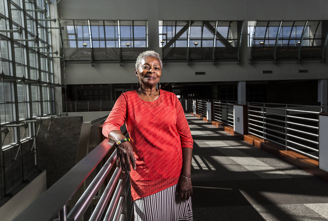 Claytee White is the director of the Oral History Research Center at UNLV Libraries. (Benjamin Hager/Las Vegas Review-Journal) @benjaminhphoto