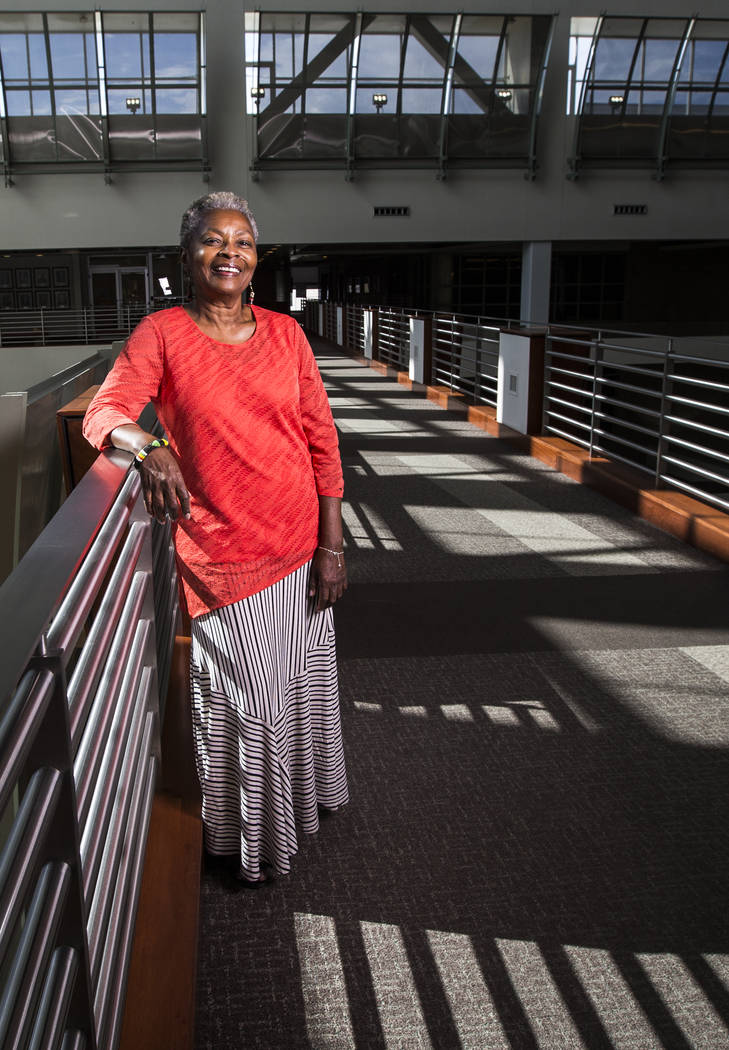 Claytee White is the director of the Oral History Research Center at UNLV Libraries. (Benjamin Hager/Las Vegas Review-Journal)@benjaminhphoto