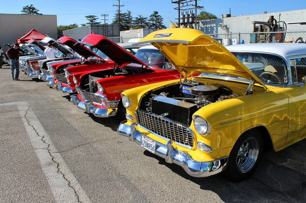 Facebook Water Street in Hendeson transforms into a classic car museum during the Water Street Car Show.