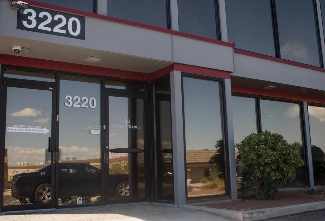 Las Vegas marijuana testing laboratory G3 Labs on Thursday, Sept. 21, 2017, in Las Vegas. Morgan Lieberman Las Vegas Review-Journal