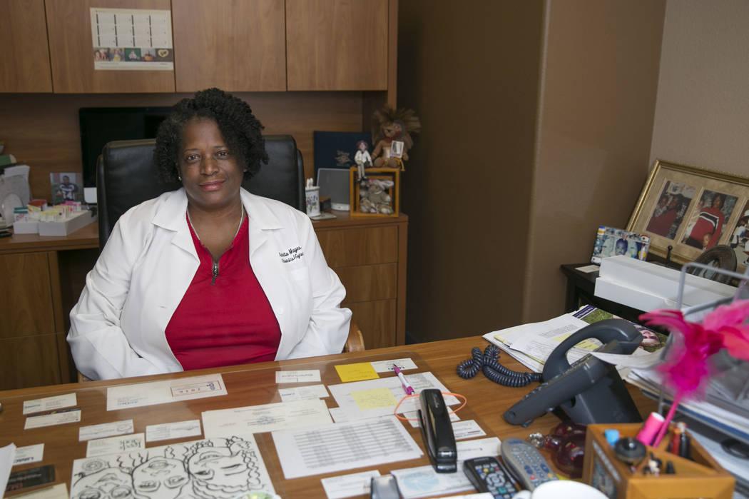Dr. Annette Mayes of Las Vegas All Women's Care advises against using marijuana during pregnancy. (Gabriella Angotti-Jones/Las Vegas Review-Journal) @gabriellaangojo
