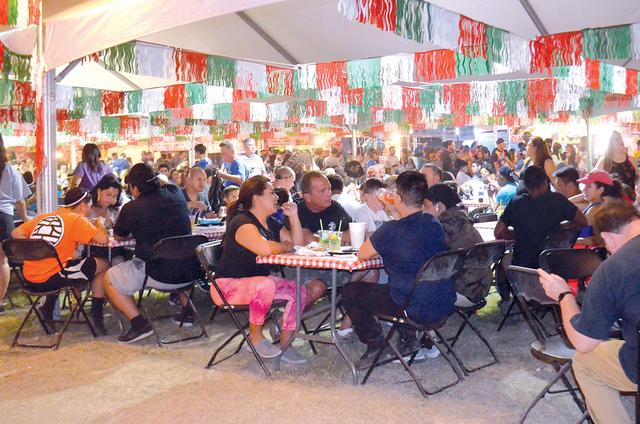The San Gennaro Feast in 2016 at Craig Ranch Regional Park. Photo El Tiempo