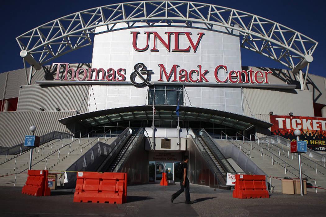 Thomas and Mack Center at UNLV in Las Vegas is seen on Wednesday,  Sept. 23, 2015. Erik Verduzco Las Vegas Review-Journal