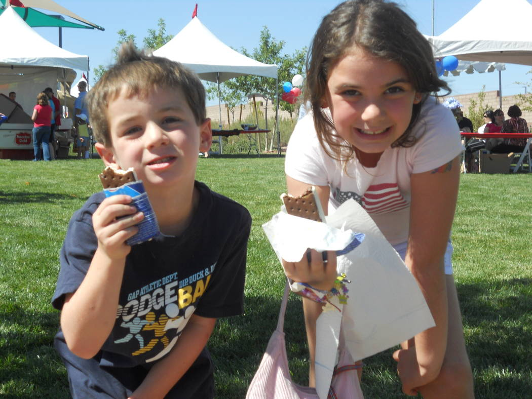 Children enjoy free frozen treats at a previous Sunny 106.5 Ice Cream Sunday. This year's event will be held in Providence's Huckleberry Park on Sept. 17. (Providence)