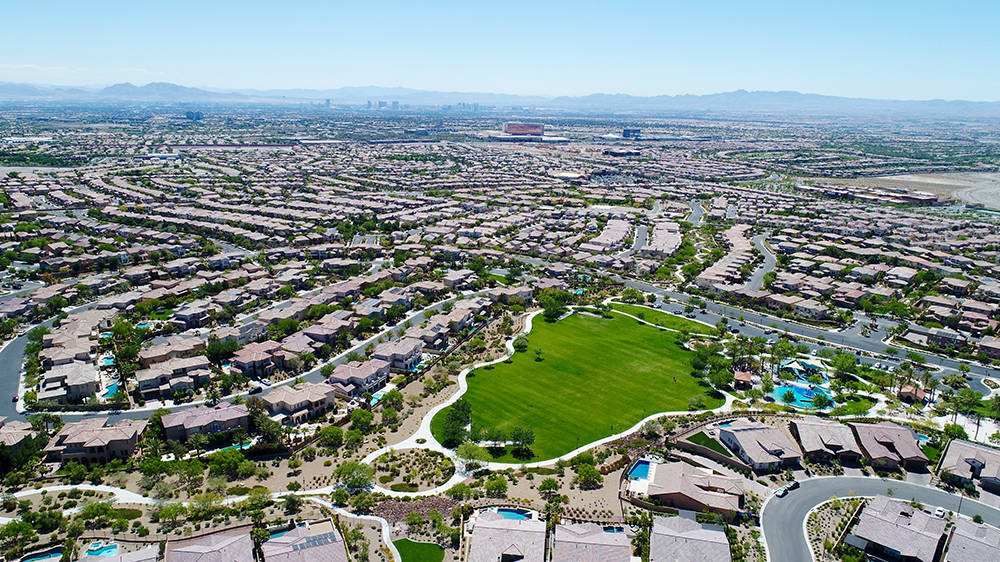 The master-planned community of Summerlin is now selling new homes in 30 neighborhoods spanning six villages. (Summerlin)
