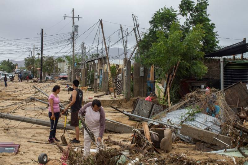Death toll due to Tropical Storm Lidia rises to 7 in Mexico