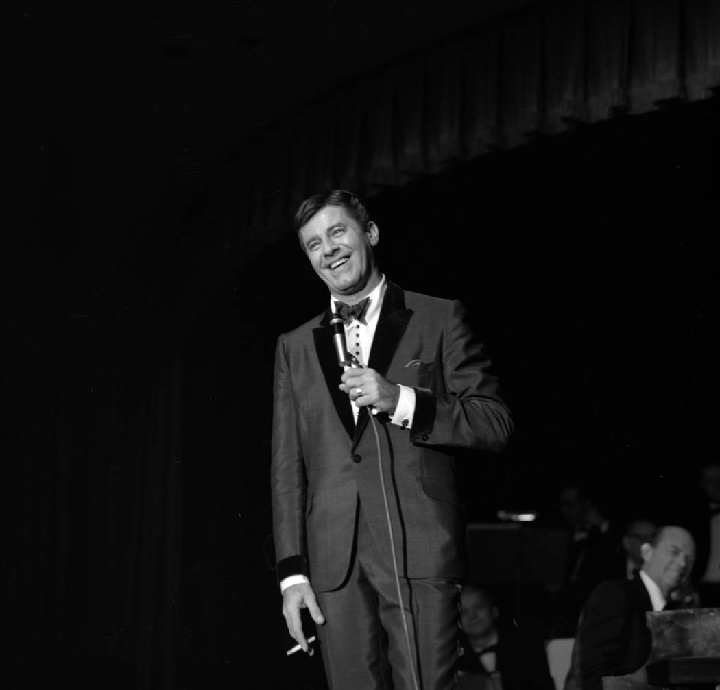 Jerry Lewis at the Sands in Las Vegas, Dec. 6, 1965. (Las Vegas News Bureau)