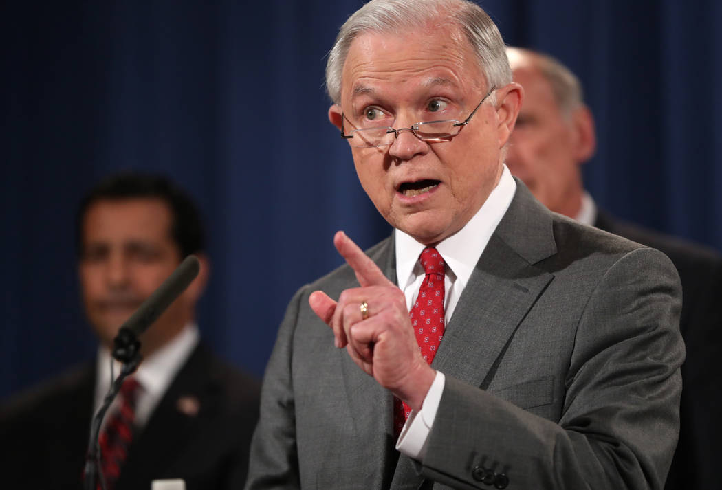 "Attorney General Jeff Sessions said on Tuesday the Trump administration had decided to rescind the so-called ""Dreamers"" program. (Andrew Harnik/AP)"