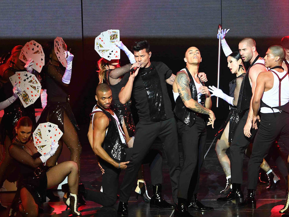 "Live tour concert director Jamie King will featured in the one-hour, behind-the-scenes TV special on VH1 of his making of the Ricky Martin ""All In"" show at the Monte Carlo.  (Denise Truscello)"